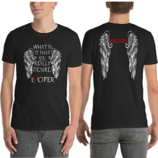 morningstar, Cotton T Shirt, Angel, unisex