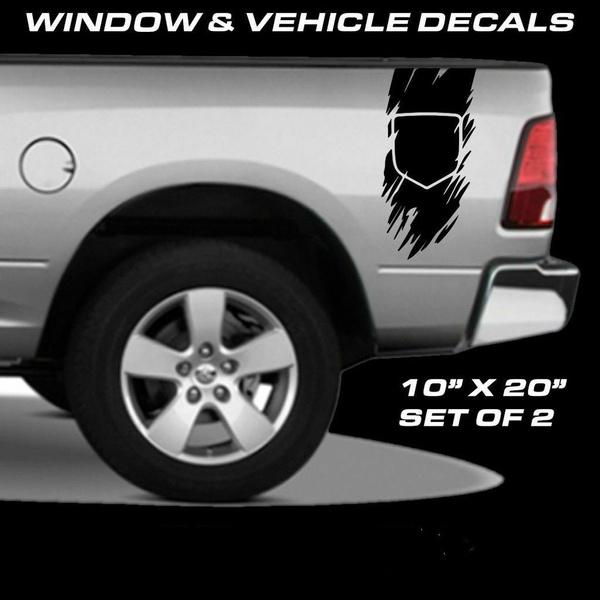RAM Diesel Dodge Vinyl Decal Sticker Truck