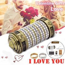 Romantic, Gifts, alphabetlock, davincicodelock