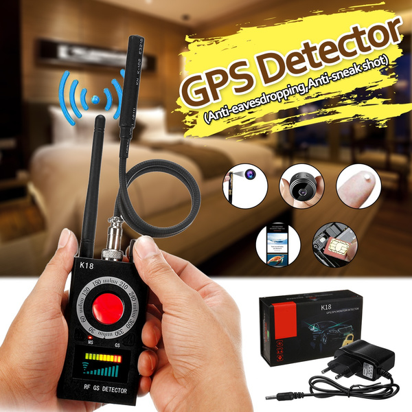 Anti Spy Detector, RF Detector & Camera Finder, Bug Detector, Upgraded RF  Signal Detector, GSM Tracking Device for Wireless Audio Bug Hidden Camera