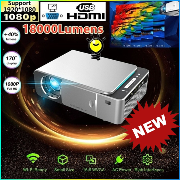 Home Theater Pc 2020.Surprise 2020 New Hi Lite Multimedia Mini Really 1280x720p Support 1080p Hd Led 18000 Lumens Projector Home Theater Cinema 3d Hdmi Vga Usb Av