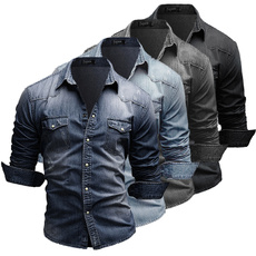 men jeans, Fashion, Shirt, long sleeved shirt