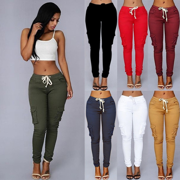 drawstringpant, Leggings, Fashion, high waist