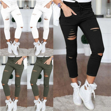 drawstringpant, pencil, Leggings, Fashion