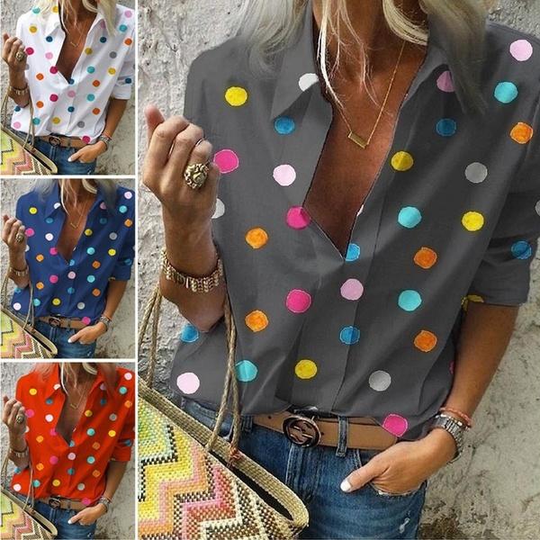 blouse, Summer, blouse women, Shirt