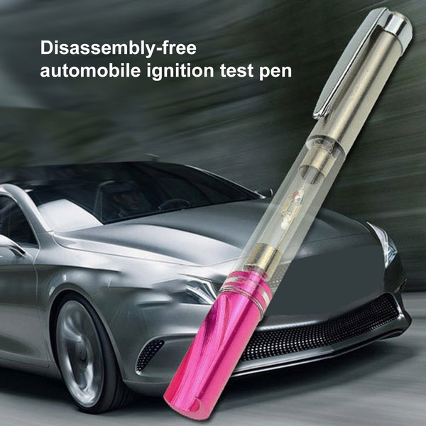 Car Ignition Test Pen Spark Indicator Plugs Wires Coils Diagnostic Test Tool