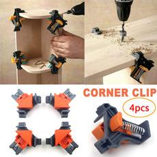 mitreclamp, constructiontool, framingfixer, woodworkingdrilllocator
