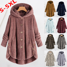 Casual Jackets, Plus Size, Hoodies, Fleece Hoodie