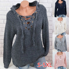 cute, Women Sweater, Lace, pullover sweater