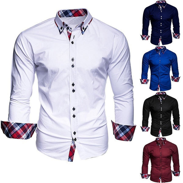 plaid shirt, Shirt, long sleeved shirt, Tops