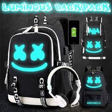 School, causalbackpack, usb, Bags