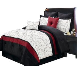 kingsizecomforterset, Pillow Shams, comfybedding, Hotel