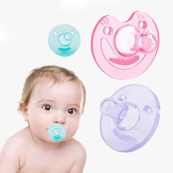 Infant Kids New Baby Orthodontic Dummy Pacifier Silicone Teat Nipple Soother