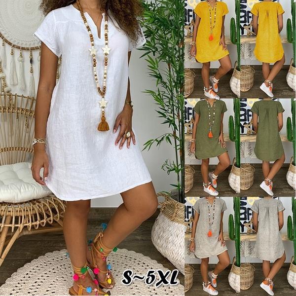 sleeve v-neck, Summer, Plus Size, Sleeve