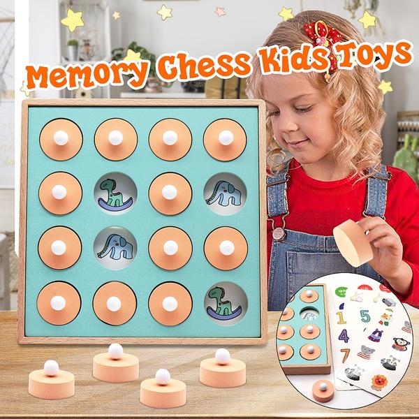 montessori, Toy, Chess, Wooden
