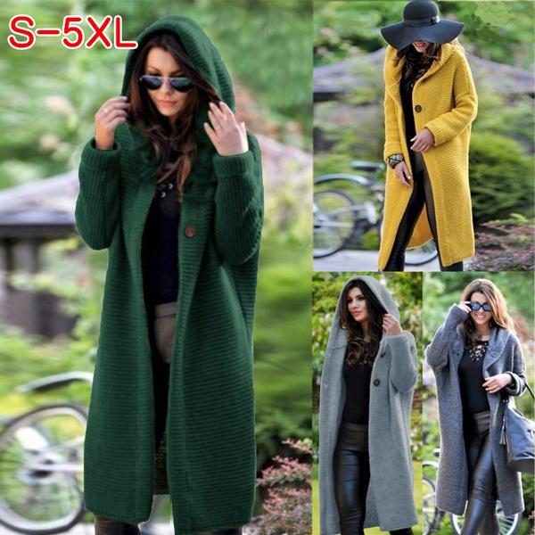 Jacket, Plus Size, Winter, sweater coat