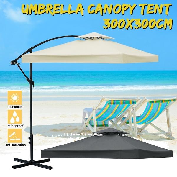 Patio Umbrella Canopy Top Parasol Tent