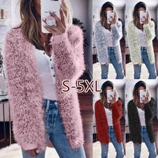 knitted, Plus Size, cardigancoat, Sleeve