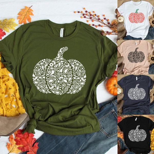 Fashion, Necks, Sleeve, pumpkinprint