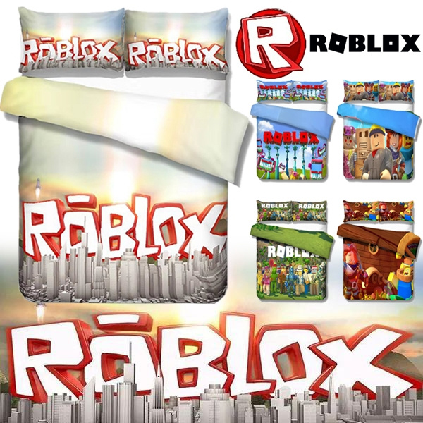 New Arrival High Quality 5 Style Roblox Printing Duvet Cover With