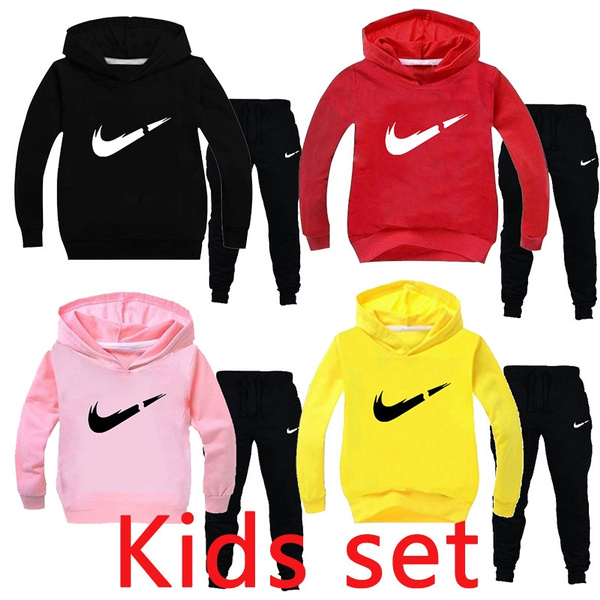 Kids Boys Spiderman Hooded Sweater Hoodies Trousers Sweatshirt Tracksuit Pants