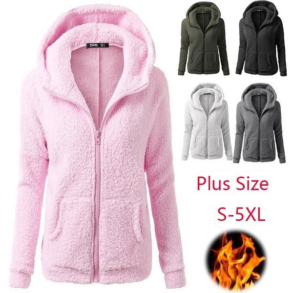 autumnampwinter, Plus Size, Fleece, Fashion