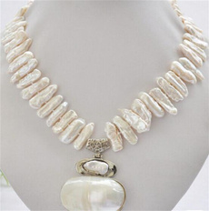 Chain Necklace, Jewelry, women necklace, pearls