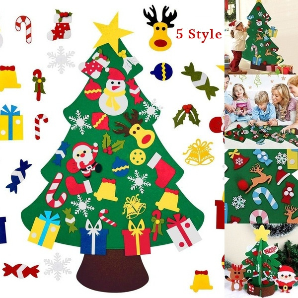 xmasdecor, Decor, Toy, feltchristmastree