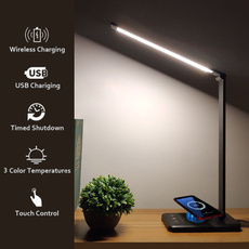 Lighting, wirelesschargingdesklamp, usbdesklamp, charger