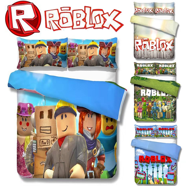 New 5 Style Roblox Cartoon Video Game Theme Comfortable Bedding