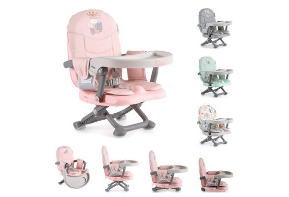 Sitzerh/öhung Tisch Kinder Stuhl- Boostersitz klappbar beige Kinderstuhl Kiwi