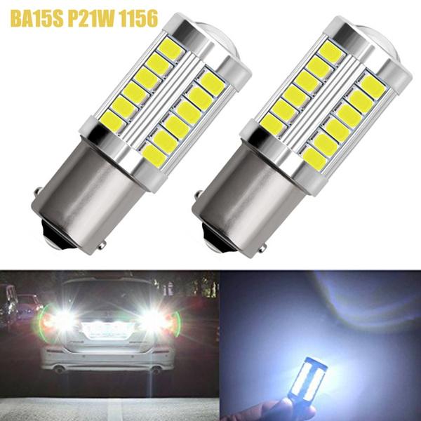 Led Auto Lights >> High Quality 2x 1156 7506 Ba15s P21w 1156a 5730 Led Car Tail Bulb Brake Lights Auto Reverse Lamp Daytime Running Signal Light 12v