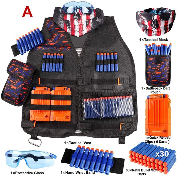 Vest, Outdoor, nerf, tacticalvest