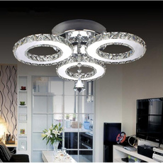 crystal ring, led, Home Decor, lustre