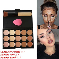 Concealer, Beauty, powder puff, Cover