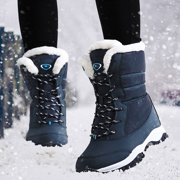 RZUOJJ Women's Fashion Snow Boots Winter Warm Boots Shoes Thick
