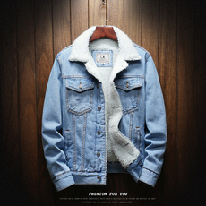 jeanjacket, Fashion, Winter, Cotton-padded clothes