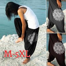 Women Pants, harem, Plus Size, Casual pants