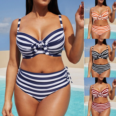 Summer, Plus Size, Waist, sexy swimsuit