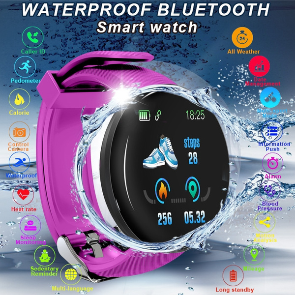 New D18 Smart Watch Heart Rate Ip67 Waterproof Smart Watch Men ...