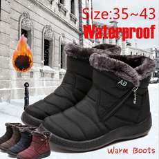 ankle boots, short boots, Algodón, Invierno