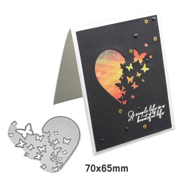 Butterfly Cutting Dies Stencil DIY Scrapbooking Album Paper Card Embossing Decor