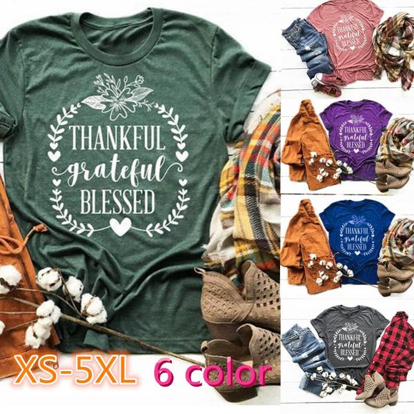 cute, thankfulshirt, Plus Size, fallshirt
