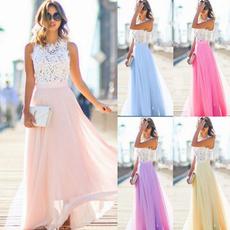 gowns, Stitching, Necks, chiffon