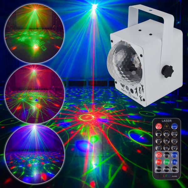 Ysh Disco Laser Light Rgb Projector