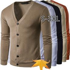 cardigan, Long sleeved, vsweater, Men