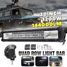 "10D Quad Row 22Inch 1440W LED Work Light Bar Spot Flood Combo 4WD Truck  23/"" 24/"""
