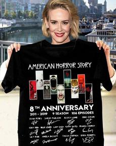 Mens T Shirt, Fashion, Cotton T Shirt, americanhorrorstory