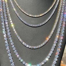 Chain Necklace, DIAMOND, Joyería, Chain