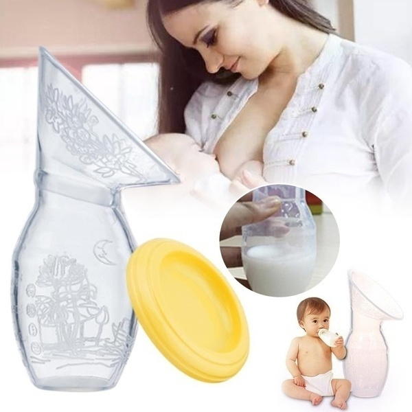 BianchiPatricia Silica Gel Galactorrhea Collection Cover Breast Milk Collector Breast Massage